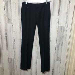 Banana Republic Ryan Fit Black Pants Size 6